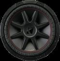 KICKER 43CVR124 - Subwoofer - Max. 800 W - Schwarz