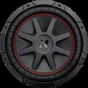 KICKER 43CVR102 - Subwoofer - Max. 700 W - Schwarz