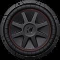 KICKER 43CVR104 - Subwoofer - Max. 700 W - Schwarz