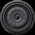 KICKER 43CVT102 - Subwoofer - Max. 800 W - Schwarz