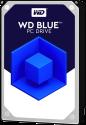 Western Digital Blue - Disque dur interne - Capacité 4 To - Argent
