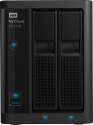 Western Digital My Cloud Pro Series PR2100 - NAS-Server - Festplatte Kapazität 4 TB - Schwarz