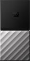 Western Digital My Passport SSD - Externe  Festplatte - 256 GB - Schwarz/Silber