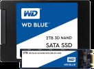Western Digital BLUE 3D NAND M.2 2TB - Solid State Drive - 2000 GB - Schwarz