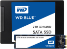Western Digital BLUE 3D NAND 2TB - Solid State Drive - 2048 GB - Schwarz