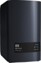 Western Digital My Cloud EX2 Ultra - Dispositivo NAS a prestazioni elevate - 20 TB - Nero