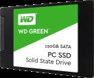 Western Digital Green PC SSD - Interne Festplatte SSD - Kapazität 120 GB - Schwarz/Grün
