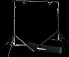 Manfrotto 1314B - Hintergrund Set - Schwarz