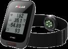 POLAR M460 + OH1 - Compteur vélo GPS avec brassard cardiofréquencemètre optique - Bluetooth - Noir