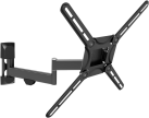 Barkan 3420 - TV-Wandhalterung - Für Curved/Flat TVs bis 56 - Schwarz