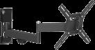 Barkan 2400 - Supporto murale - Per TV Curved/Flat fino a 39 - Nero