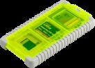 Gepe Card Safe Mini - Tasche für Speicherkarten - Gelb
