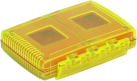 Gepe Card Safe Extreme All in One - Tasche für Speicherkarten - Gelb