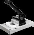 Gepe Dispositivo di montaggio 5 x 5 - Con luce - Batterie non incluse - Grigio
