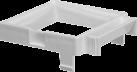 Gepe Adapter 85 x 85 - Für Gepe 8002 - Weiss