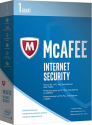 McAfee Internet Security 2017 - 1 licence, PC/MAC/Smartphone/Tablette, multilingue