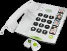 doro Secure 347 - Telefono da tavolo - Analogico - Bianco
