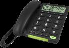 doro PhoneEasy 312cs - Téléphone filaire - Caller-ID - Noir