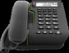 doro Comfort 3005 - Telefono da tavolo - Analogico - Nero