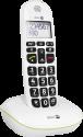 doro PhoneEasy 110 - Telefono fisso - Display: 23x38 mm - Bianco