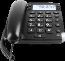 doro Magna 4000 - Telefono desktop - Analogo - Nero