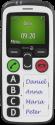 doro Secure 580 - Mobiltelefon - Spritzwassergeschützt - Schwarz/Weiss