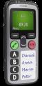 doro Secure 580 IUP - Mobiltelefon - GPS - Schwarz/Silber