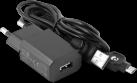 doro Power adaptor (micro-USB) - Caricabatterie - Nero