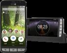 doro Liberto 825 - Android Smartphone - 4G/LTE - Schwarz