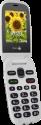 doro 6030 - Téléphone mobile - Son clair et puissant - Gris/Blanc