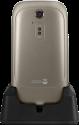 doro 6520 - Mobiltelefon - 800mAh Li-ion - Braun/Weiss