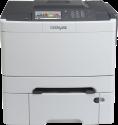 Lexmark CS510dte - Farblaserdrucker - Bis zu 30 ppm - Schwarz/Weiss