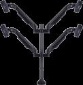 Multibrackets VESA Quad - Tischständer - Für 15-32 - Schwarz