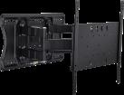 Multibrackets Super Slim Tilt & Turn - Support mural jusqu'à 84 - VESA 400x400 - Noir