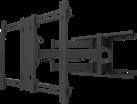 Multibrackets Uni Flexarm Pro - Support mural jusqu'à 110 - VESA 600x400 - Noir