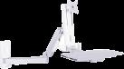 Multibrackets Workstation Arm Single Extended - Wandhalterung - Weiss