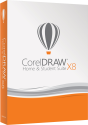 Corel CorelDRAW Home & Student Suite X8, PC [Versione francese]
