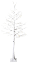 Star Trading TOBBY - Baum Birke 210cm - 210x100cm - 124 LEDs - weiss