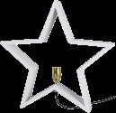 Star Trading LYSeKIL - hängender Stern für den Innenbereich - 52x52cm - weiss