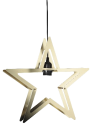 Star Trading STARLING - Metallstern - 38x36cm - Indoor - gold