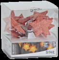 Star Trading STAR SHAPED NET - guirlande lumineuse LED - 135cm - cuivre