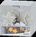 Star Trading STAR SHAPED NET - LED Lichterkette - 135cm - chrom