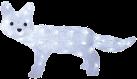 Star Trading LED Crystal Fuchs - stehend - 30x56cm