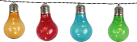 STAR TRADING Party Lights - LED Lichterkette - Timerfunktion - Orange/Rot/Blau/Grün