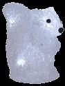 Star Trading écureuil cristal LED - 13x15cm