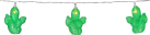 STAR TRADING « FRUITY » - Guirlande lumineuse LED - Fonction de minuterie - Cactus