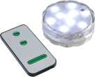 STAR TRADING Bougie LED - Transparent