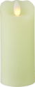 STAR TRADING Pillar Candle Glow - Bougie LED - 5.5x12.5 cm - Vert