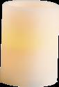 STAR TRADING LED Echtwachskerze, 10x7.5 cm