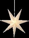 Star Trading Sensy - Stern hängend - 70x70cm - weiss